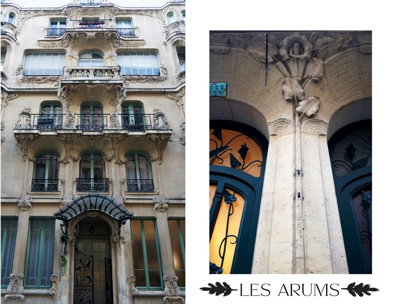 Balade dans le 7e arrondissement de Paris | de Saint Germain des Près au quartier du Gros Caillou - Les Arums, 33 rue du Champ de Mars