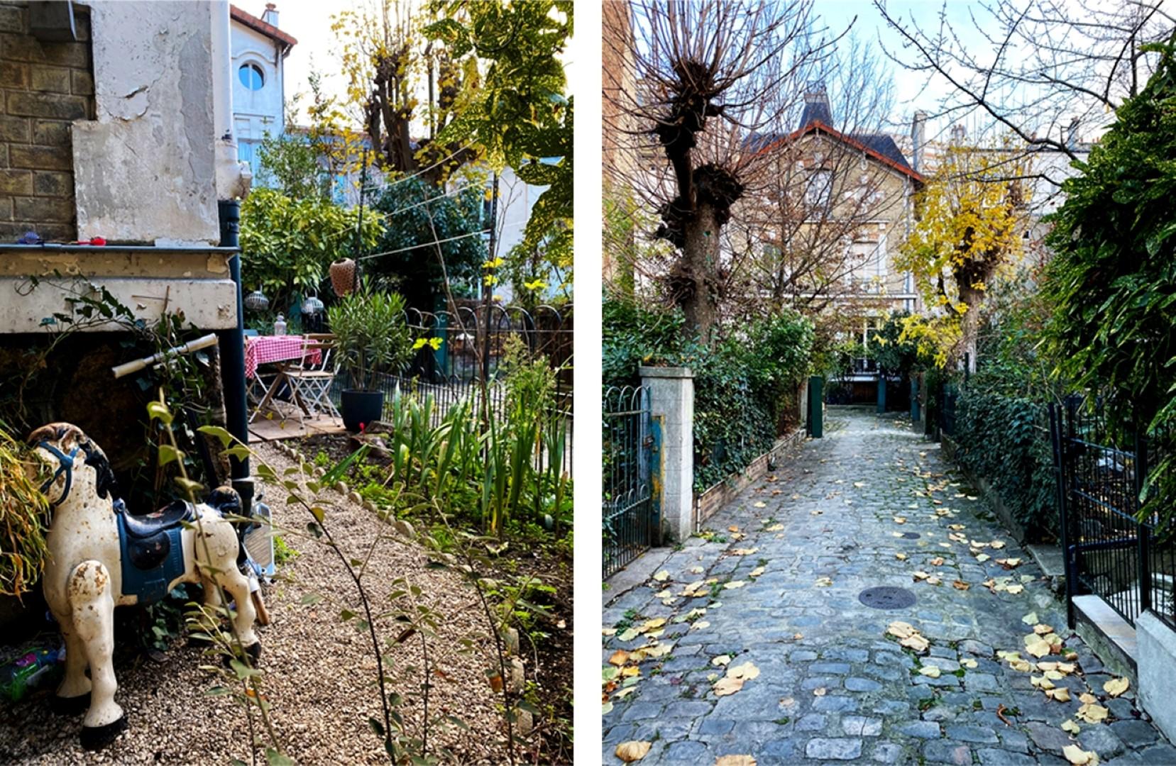 Balade le long de la rue de Belleville - Cours cachées - Villa des Fêtes