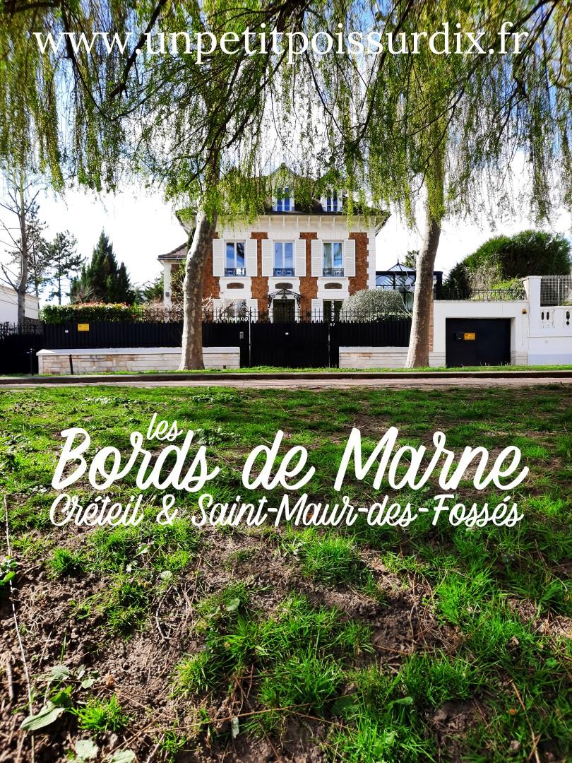Balade le long de la Marne - Saint Maur des Fossés& Créteil