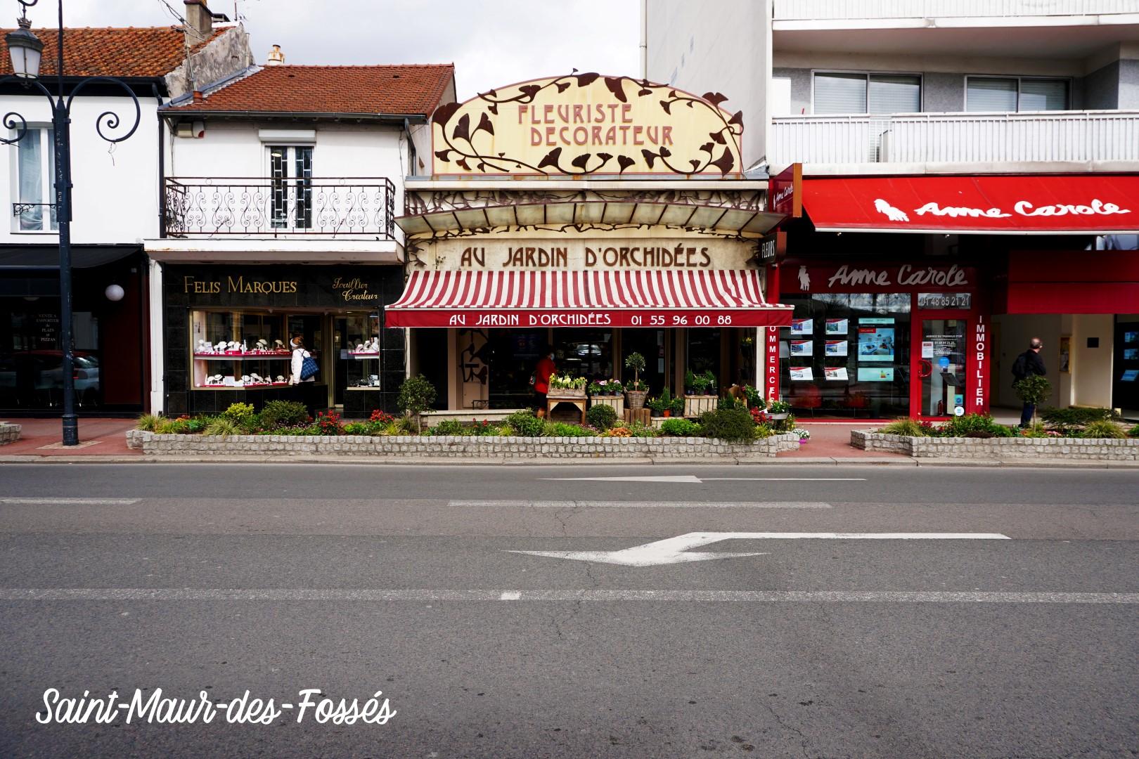 Saint Maur des Fossés, centre ville - Fleuriste