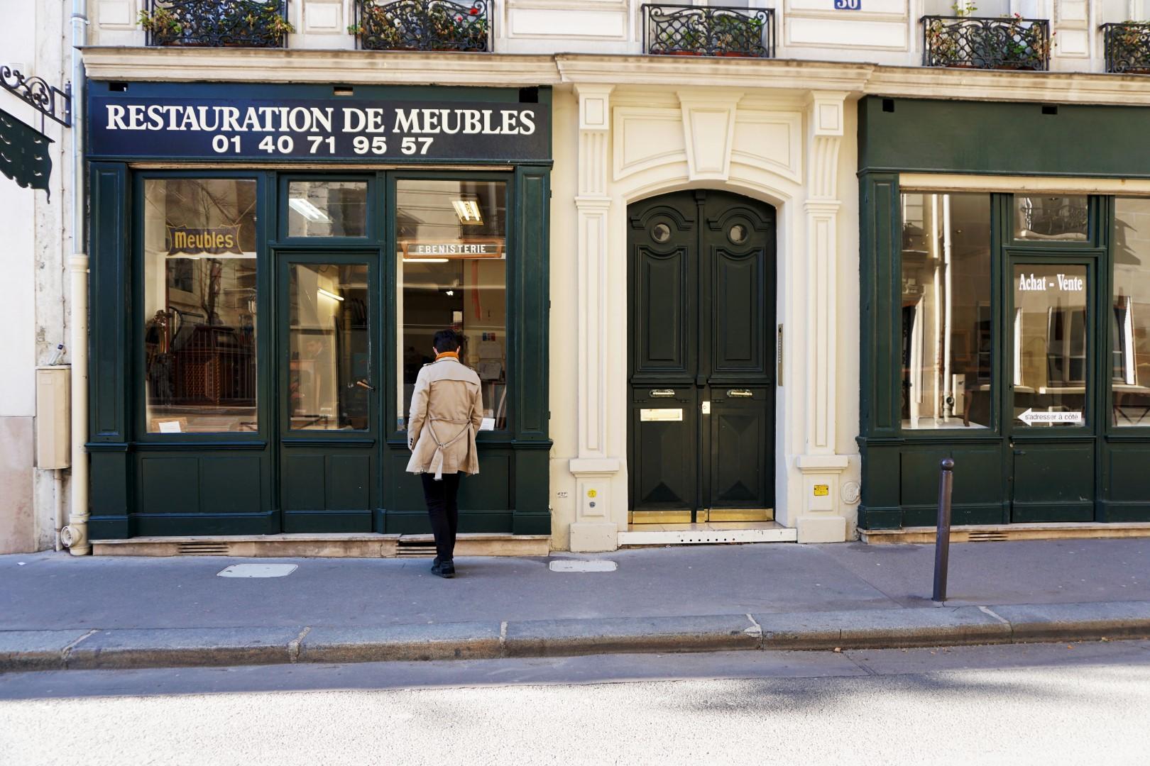 Balade dans le 16e, voies privées et art nouveau - Rue Boileau