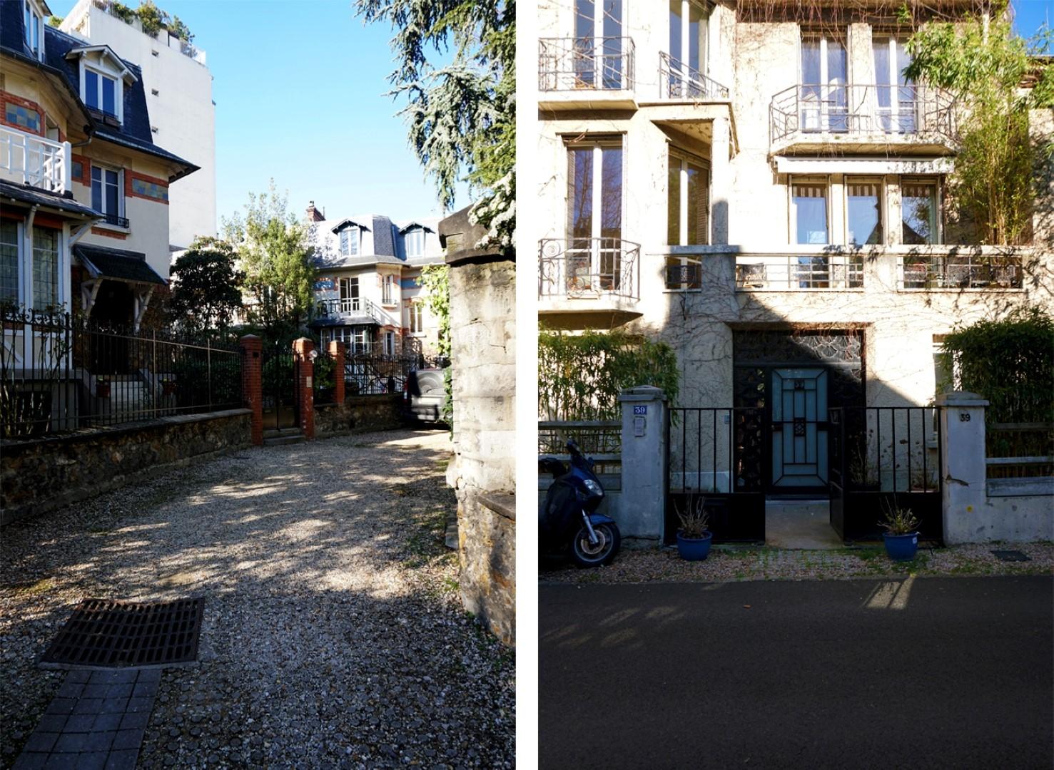 Balade dans le 16e, voies privées et art nouveau - Hameau Boileau