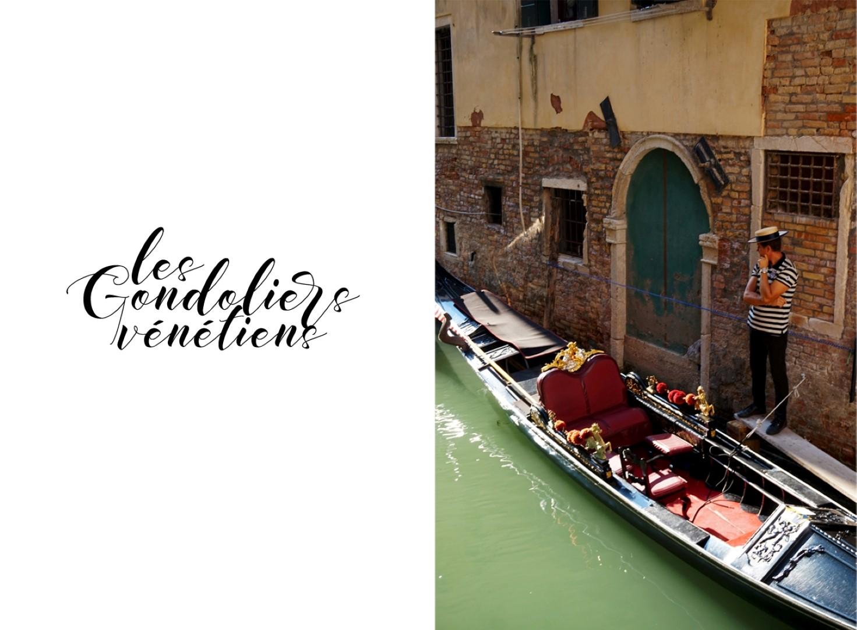 Un voyage en Italie du Nord - De Venise aux Grands Lacs   Venise Gondoliers Vénitiens