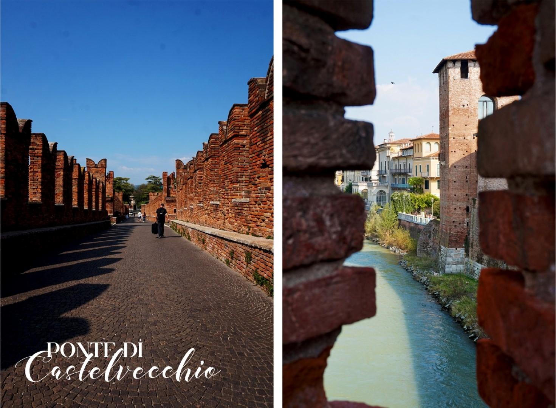 Un voyage en Italie du Nord - De Venise aux Grands Lacs   Vérone Pont du Castelvecchio