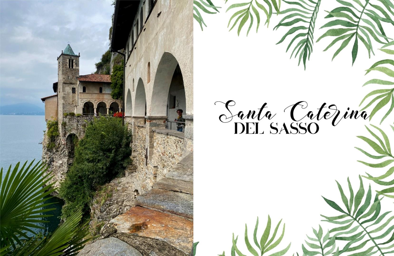 Un voyage en Italie du Nord - De Venise aux Grands Lacs   Lac Majeur Santa Caterina del Sasso