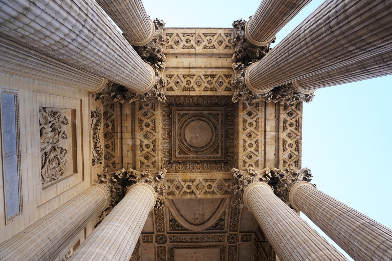 Vue de Paris - Depuis les colonnades du Panthéon, Paris 5e